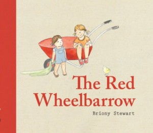 the red wheelbarrow